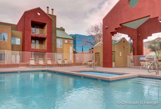 Hayden Square swimming pool