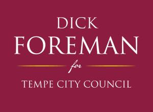 Dick Foreman Tempe City Council
