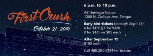 Tempe First Crush Tickets