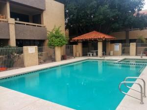 Rialto Condominiums swimming pool