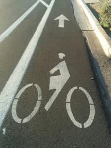 Tempe bike lane