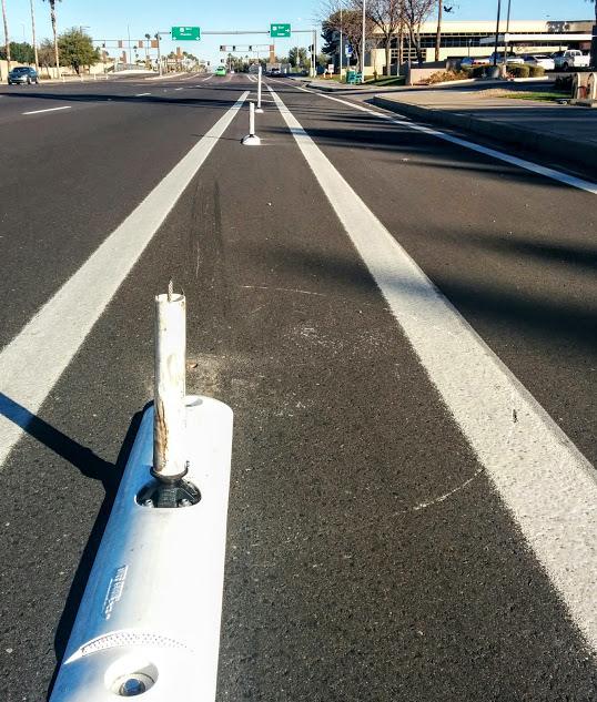 Tempe bike lane ballard