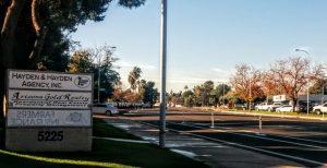 Tempe bike lane barricade