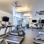Hayden Ferry fitness room