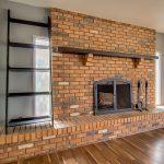 1213 E La Jolla fireplace