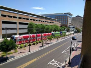 Hayden Square light rail