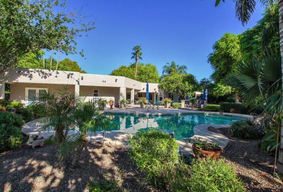White Fence Farms pool area