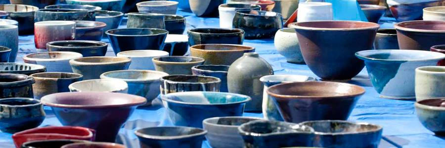 Tempe Empty Bowls pottery