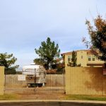 University Royal Garden Homes rv gate