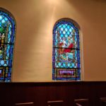 First Congregational Church stained glass
