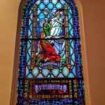 Window at First Congregational Church