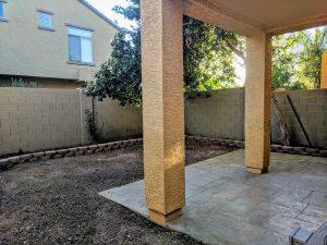 Villagio large patio are