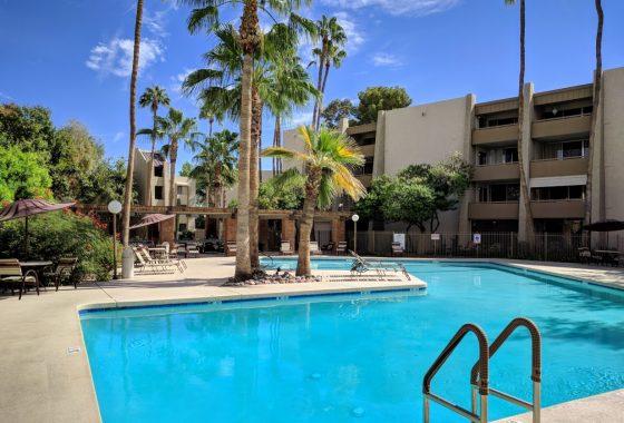 Affordable Scottsdale condominium complex