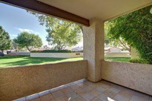 Dobson Villas patio views