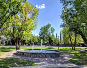 Graystone fountain Tempe, AZ