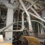 Hayden Flour Mill inside the belly