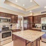 990 E Divot island kitchen