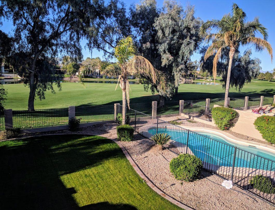 Ocotillo golf course views