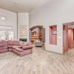 6411 S River living room