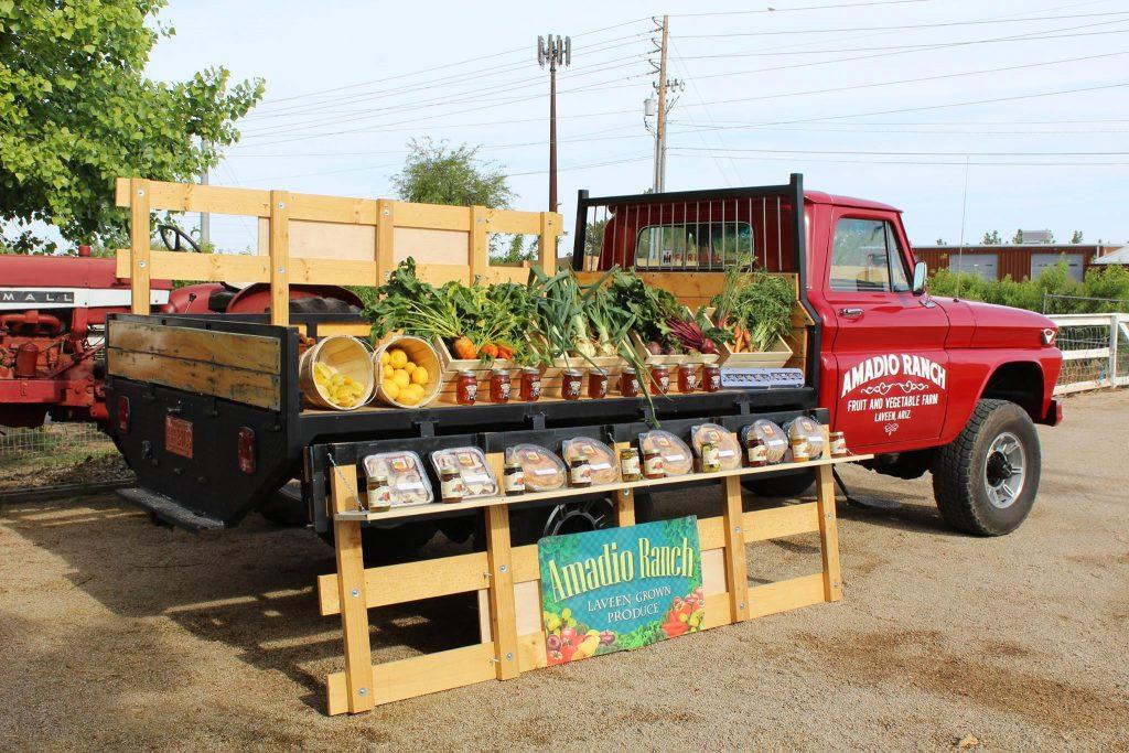Amadio Ranch Peach Truck Tempe