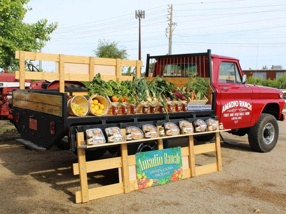Amadio Ranch Peach Truck Tempe