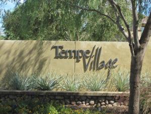 Tempe Village entry