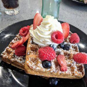Sweetest Season belgian waffles