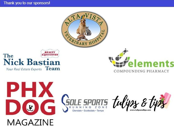 Boxer Luv Rescue Run sponsors