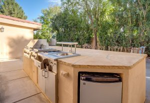 Graystone Tempe outdoor kitchen