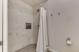 tiled shower Regatta Pointe