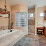Custom Mesa Estate master bathroom
