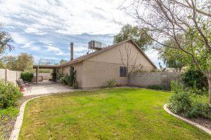 3854 West Laredo back yard
