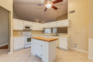 3854 West Laredo island kitchen
