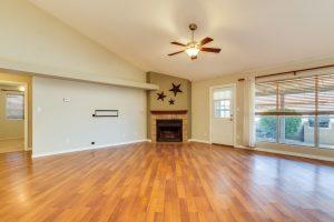 3854 West Laredo fireplace