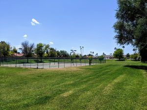 Corona Village tennis court