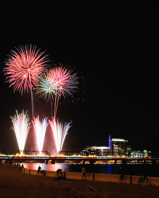 Tempe Fourth of july Fireworks