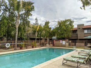Scottsdale Haciendas swimming pool