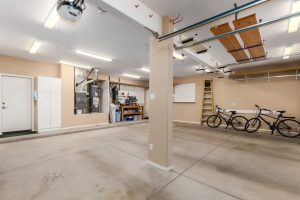 large extended length garage