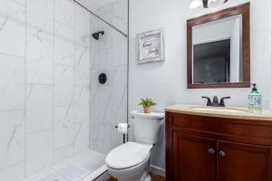 3 West Duke master bathroom
