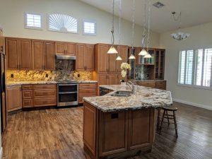 340 W Louis custom kitchen