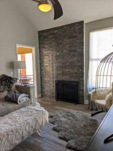 154 W 5th St fireplace