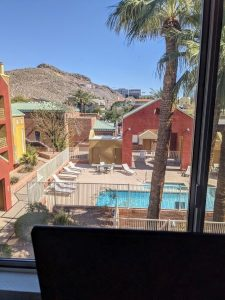 View of A Mountain Tempe AZ